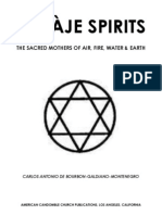 Aje Spirits - Air Fire Water Earth