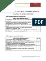 Rúbrica Criterios de Evaluación LGEYLB