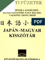 Japán-magyar kisszotar