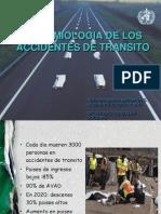 Norma - Epidemiologia de Los Accidentes de Transito - Dra Ahumada