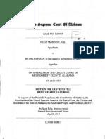 SCOAL - McInnish|Goode v Chapman - Rille Amicus Brief