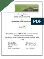 Repot on SMS-2 JSPL, Raigarh Final