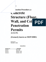 LLNL Penetration Procedure