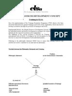 Human Resources Development Concept