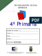 PRUEBA DE LENGUA 4ß
