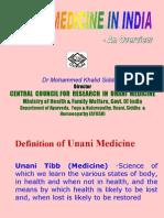 Unani Medicine Overview Dr Khalid Siddiqui (2)