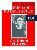 Comentários sobre A Sociedade do Espectáculo - Guy Debord