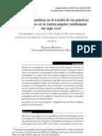 ROUBINA - Fuentes Iconograficas en El Estudio de Las Practicas Instrumentales