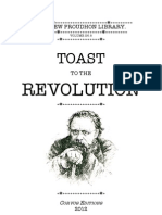 Toast to the Revolution (P.J. Proudhon)