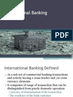 1. International Banking