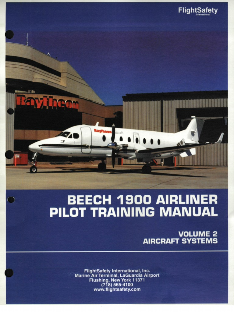 beechcraft 1900 be1900 fs systems descriptions manual rh scribd com beechcraft 1900d aircraft flight manual beech 1900d aircraft flight manual