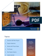 Airports GIS and Electronic ALP-Pilot Program Update