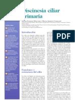 Discinesia ciliar primaria