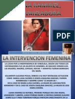 Juana Ramirez, La Avanzadora 1