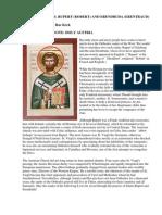 Two Lives of Saints Rupert (Robert) and Erendruda (Erentraud)