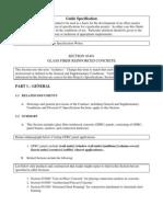 PCI Guide Specification-Glass Fiber Reinforced Concrete-10!11!11
