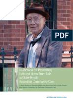 Australian Commission on Safety and Quality in Healthcare Guidelines for Community,