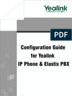 Configuration Guide for Yealink IP Phone & Elastix