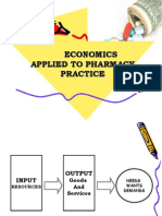 Heco- Economics Applied to Pharmacy Practice 1