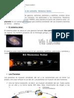 Guía de estudio sistema solar