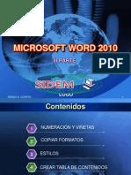 Microsoft Word 2010 Parte IV (Nxpowerlite)
