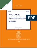 Reglamento Nacional de Arqueo de Naves