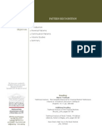 1 General Documents MTAEF Lecture 4 Pattern Recognition