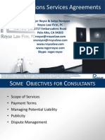 Public Relations Services Agreements