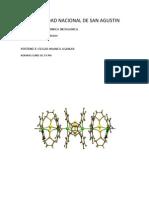 Edgar Huanca Aguilar (Lab de Quimica Inorganica Horario Lunes de 3-5 Pm)