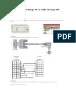 Comunicación serie de RSLogix 500 con un PLC Micrologix 1000