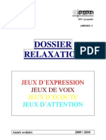 Projet Relaxation