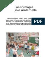 Sophrologie Maternelle