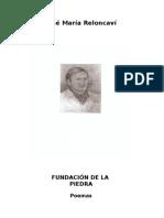 Fundación de la piedra, por José María Reloncaví