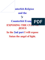exposing the cult of jesus counterfeit religion part 1