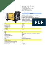 3.5KWKIPORGENERATOR KGE3500Ti