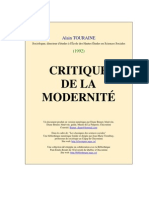 103759917 Touraine Critique de La Modernite