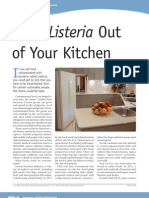 FDA Listeria Out of Kitchen