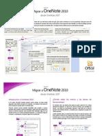 Guía de migración a OneNote 2010
