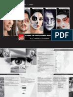 Professional Makeup Artist Courses Catalog 2008 2009