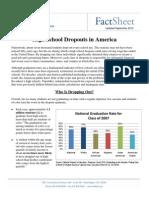 High School Graduation Rates Fact Sheet