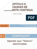CIRCUITOS Y MAQUINA ELÉCTRICAS - CLASE 8 - MAQUINAS DE CORRIENTE CONTINUA - PARTE 1