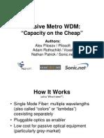 4-Pilosov Metro WDM