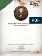 Murder in Baldurs Gate Events Supplement