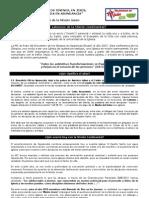PAUTA DE ORACIÓN ALTARES MISIÓN CONTINENTAL 2012