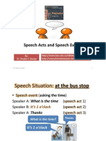 Speech Acts and Speech Events, By Dr.shadia Yousef Banjar.pptx