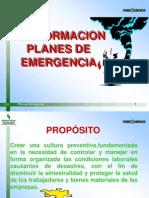 Planes de Emergencia.