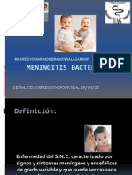 Meningitis Bacteriana Pediatria