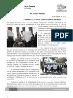 04/08/13 Germán Tenorio Vasconcelos PRESIDE VIII AUDIENCIA PÚBLICA EN SALUD