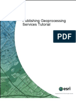 Publishing Geoprocessing Services Tutorial