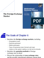 Chapter 6 - The Foreign Exchange Market
